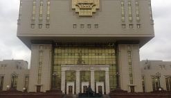 Здание фундаментальной библиотеки МГУ